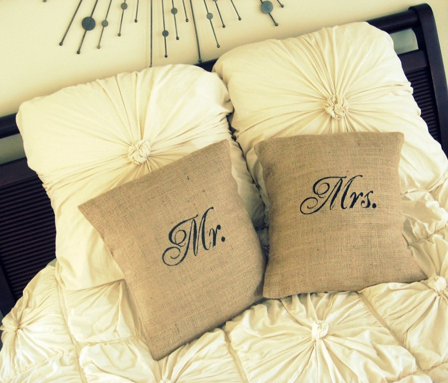 If everything goes well, these pillows should be on the floor by the end of the night. (Photo courtesy of DickOatts.com)