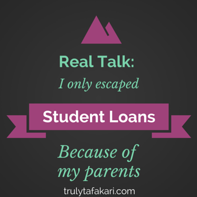 student loans and parents