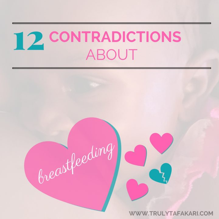 12 Contradictions BREASTFEEDING